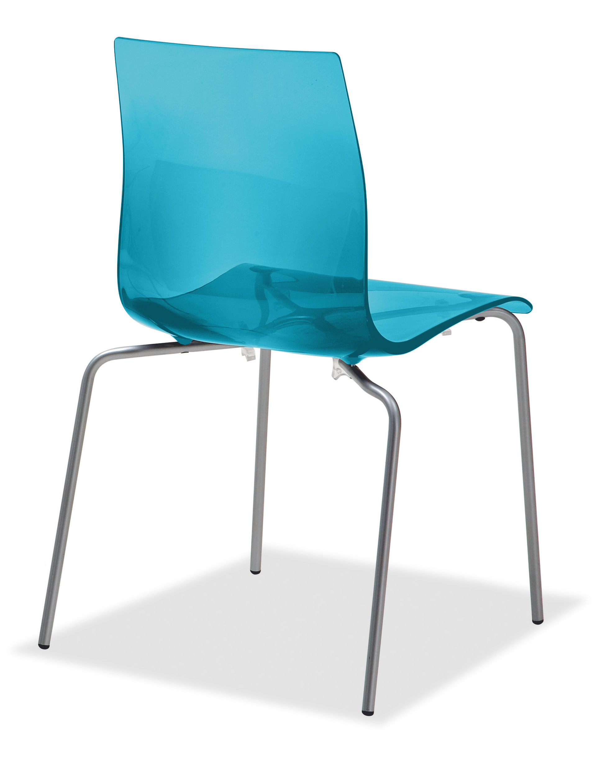 Gel B Stacking Dining Chair Set of 2 by DomItalia Italy Buy
