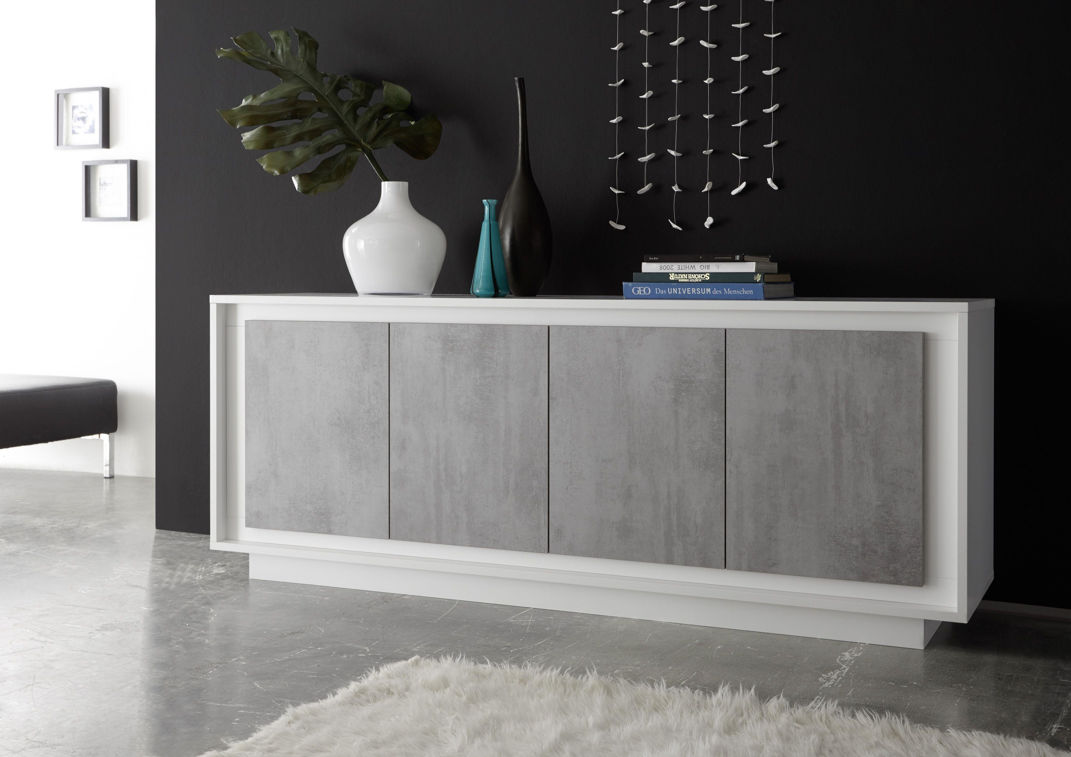 White + Grey Concrete