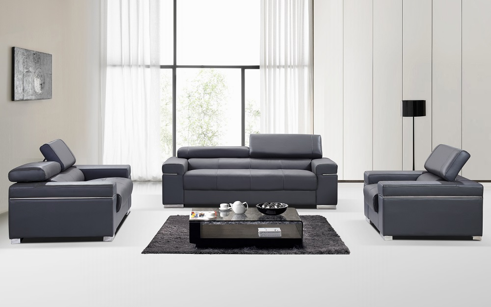 Soho Leather Sofa Set By J Amp M Furniture Sohomod Com