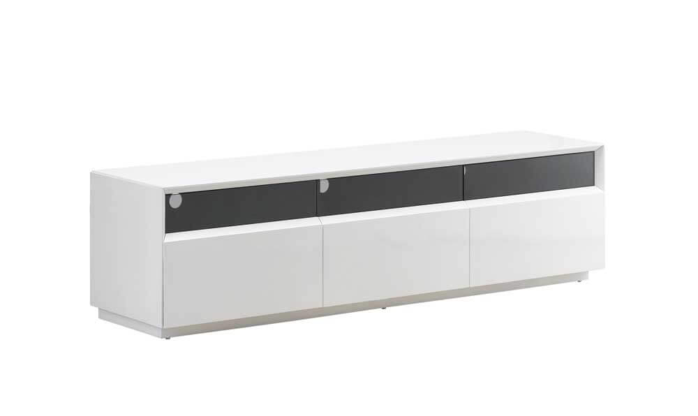 Tv023 Modern Tv Stand White High Gloss By J M Furniture