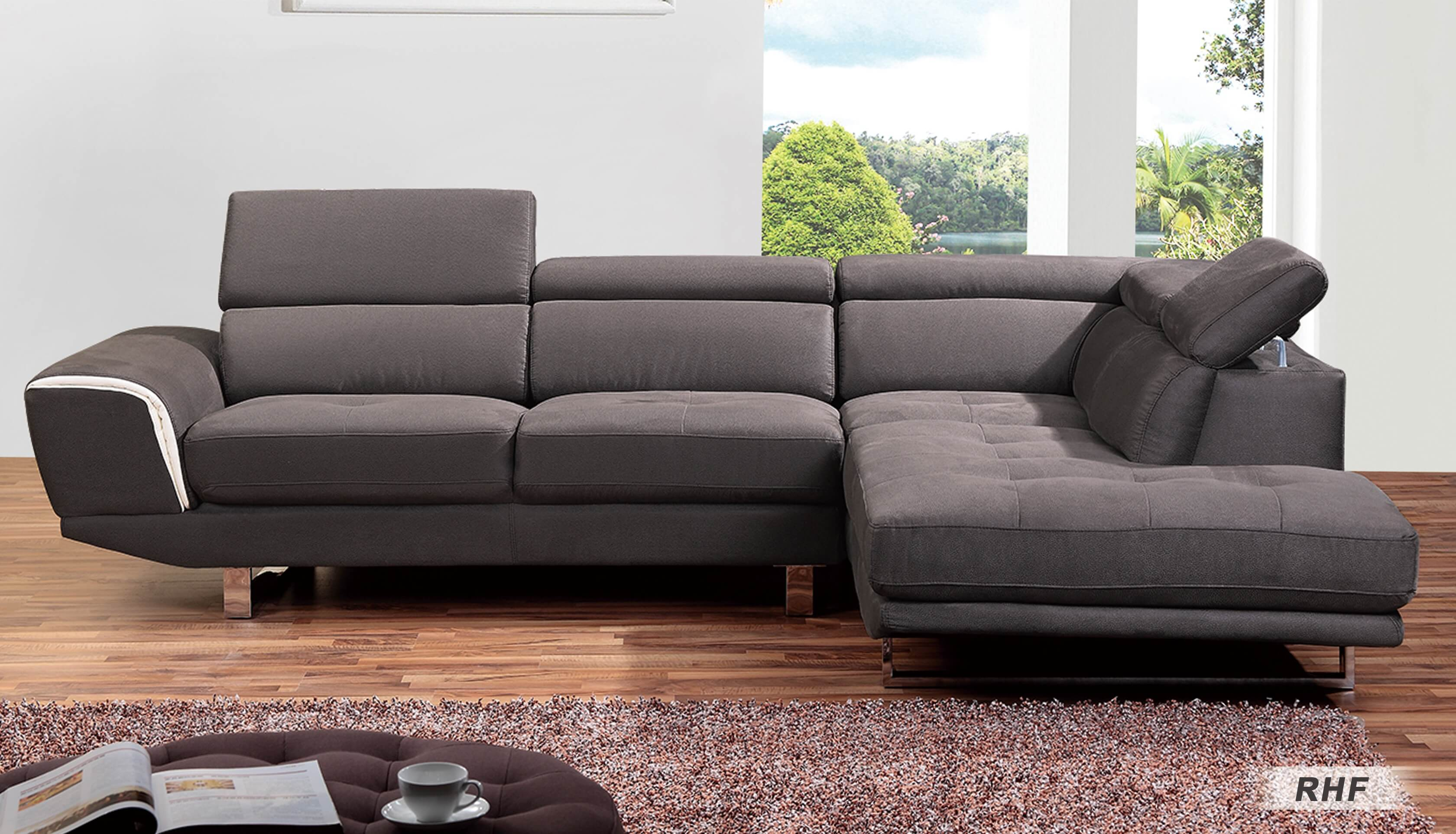 0890 Sectional Sofa Left Arm Chaise Facing By At Home Usa Sohomod Com
