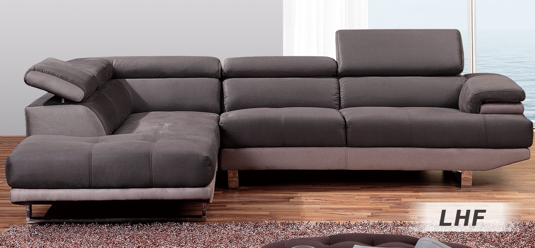 1332 Sectional Sofa Right Arm Chaise Facing By At Home