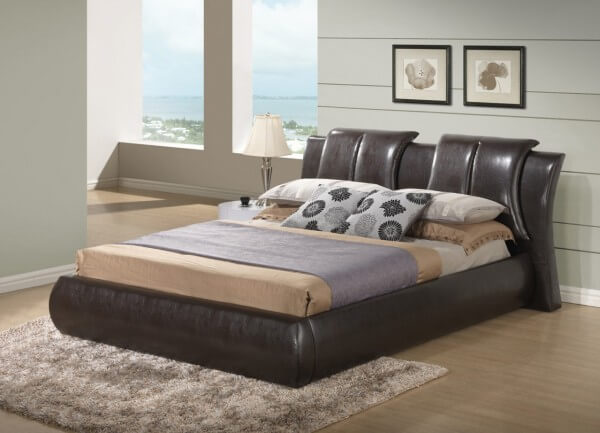 8269 King Size Bed White By Global Furniture Usa