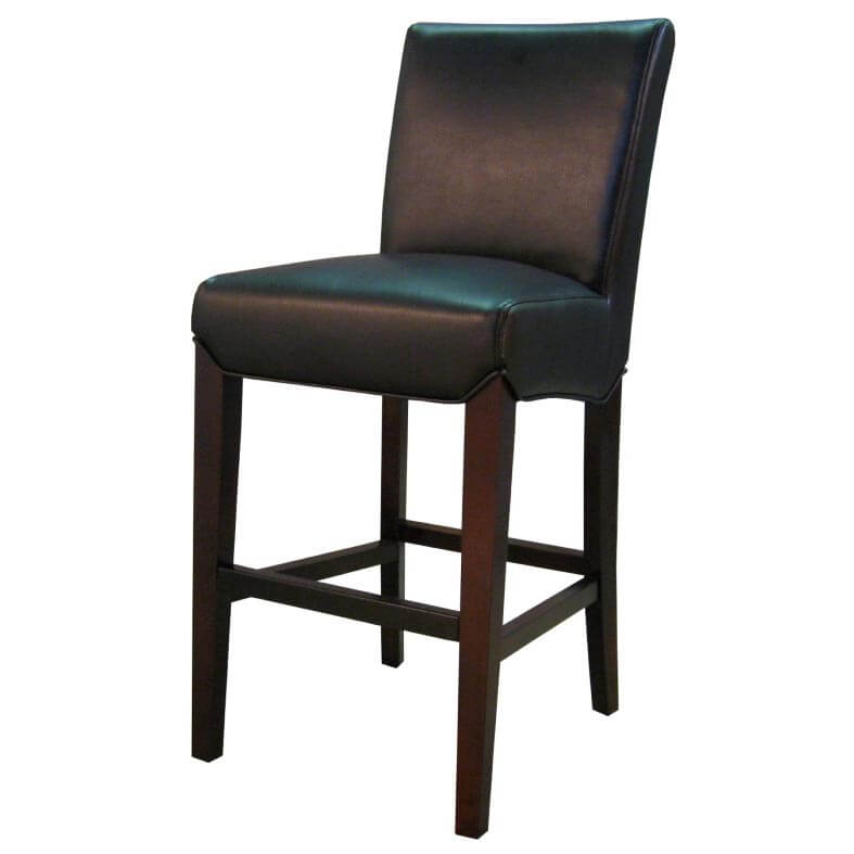 milton bonded leather counter stool aqua set of 2 buy online at best