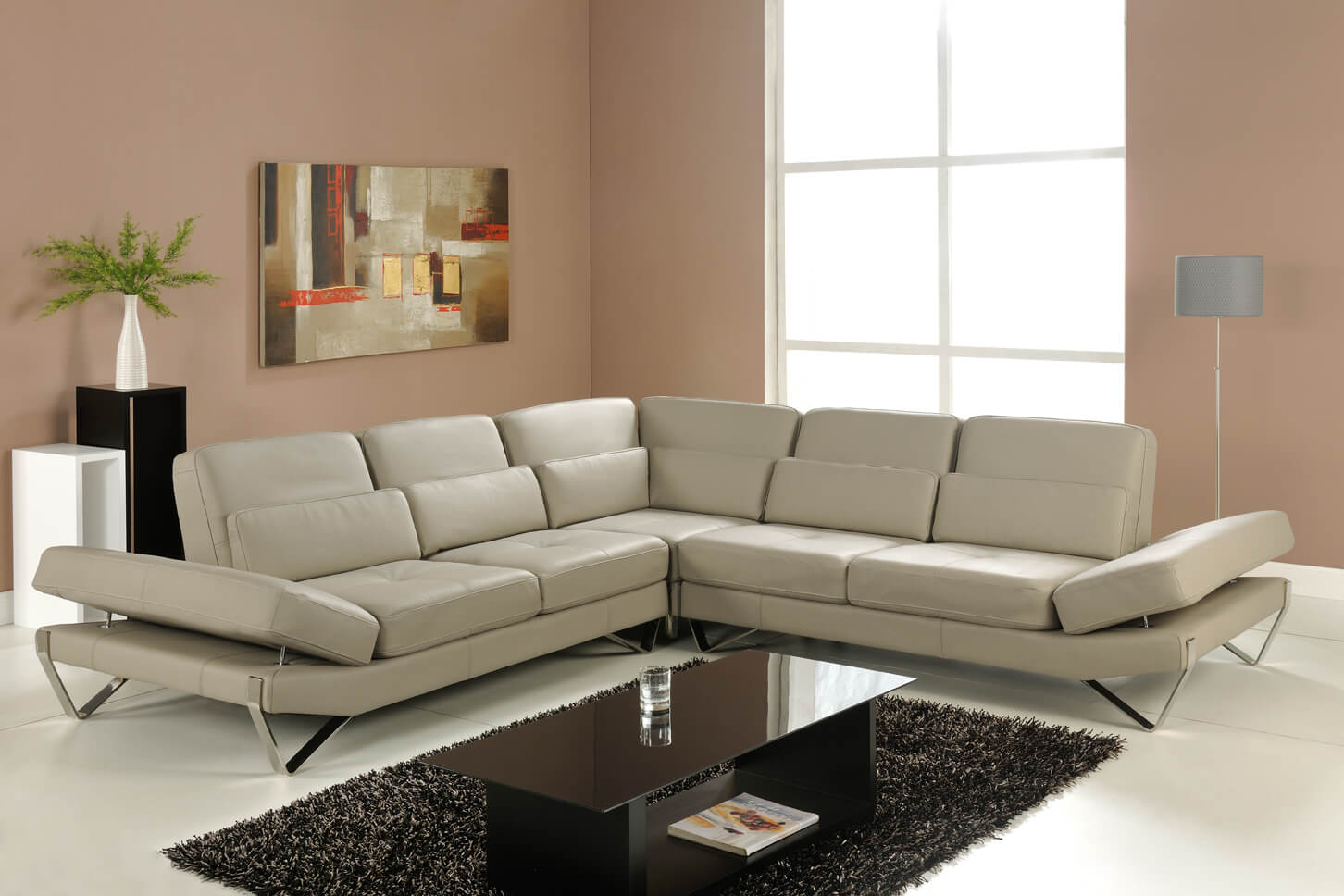 Bianca sectional sofa grey buy online at best price sohomod Sectional sofa prices