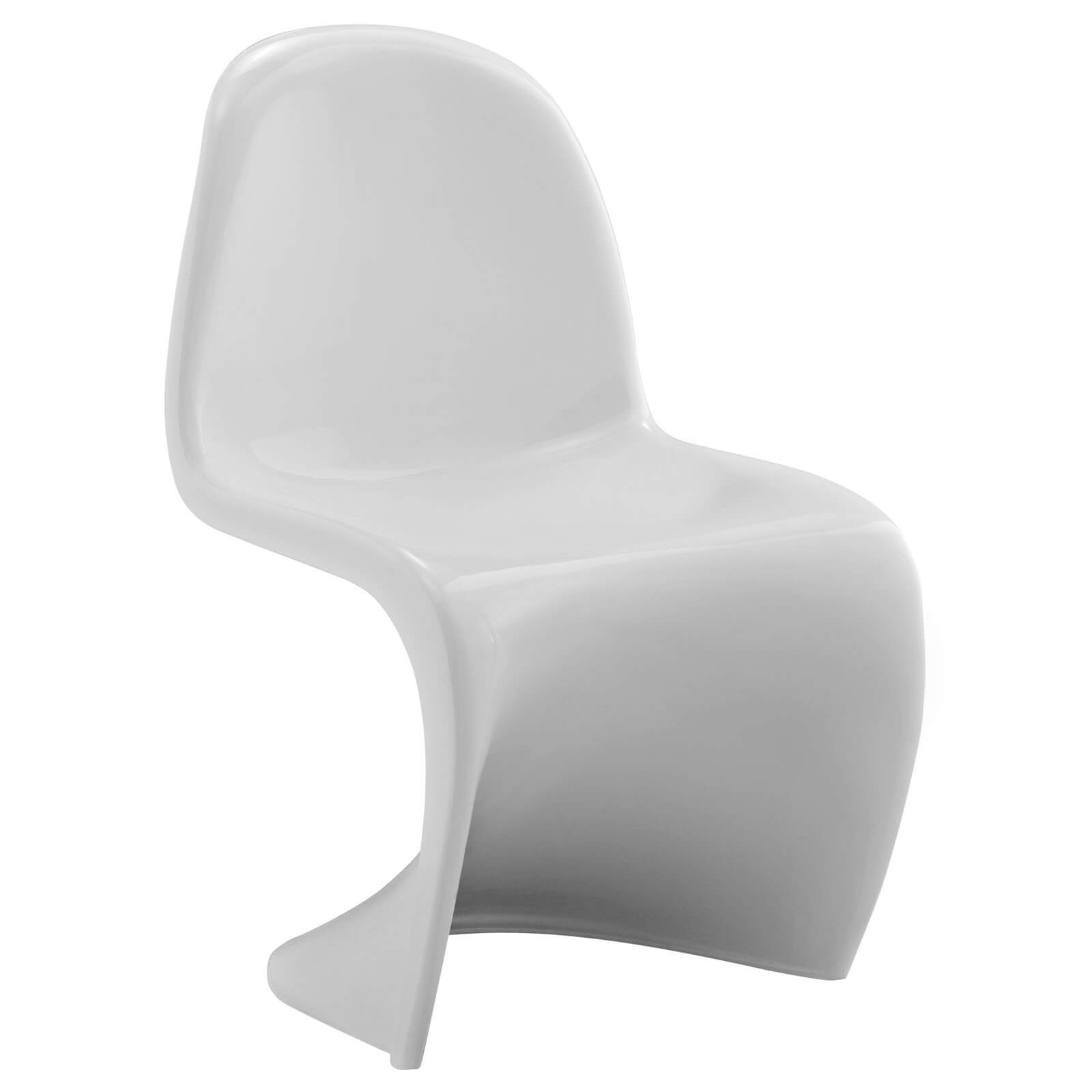 Slither Acrylic Kids Chair, Clear