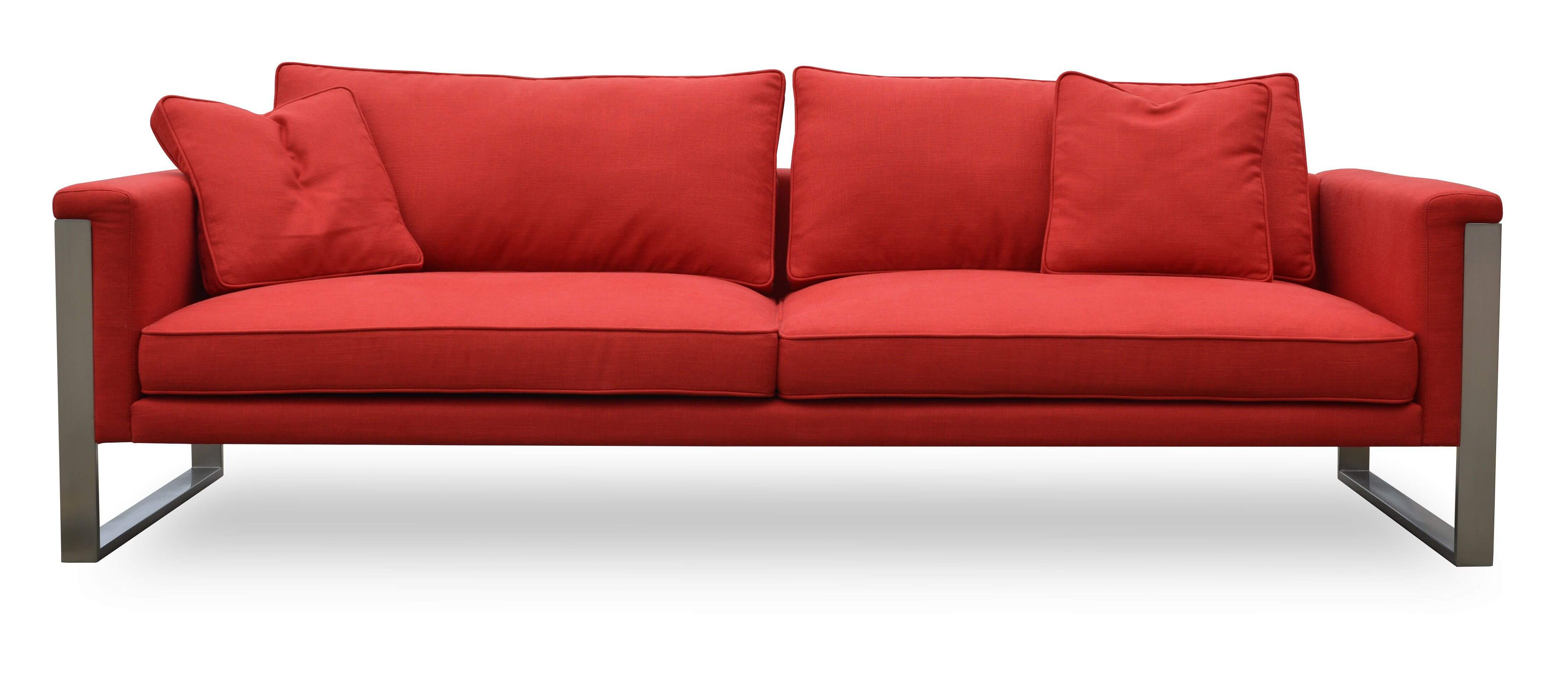 Boston sofa dark grey tweed buy online at best price for Grey tweed couch