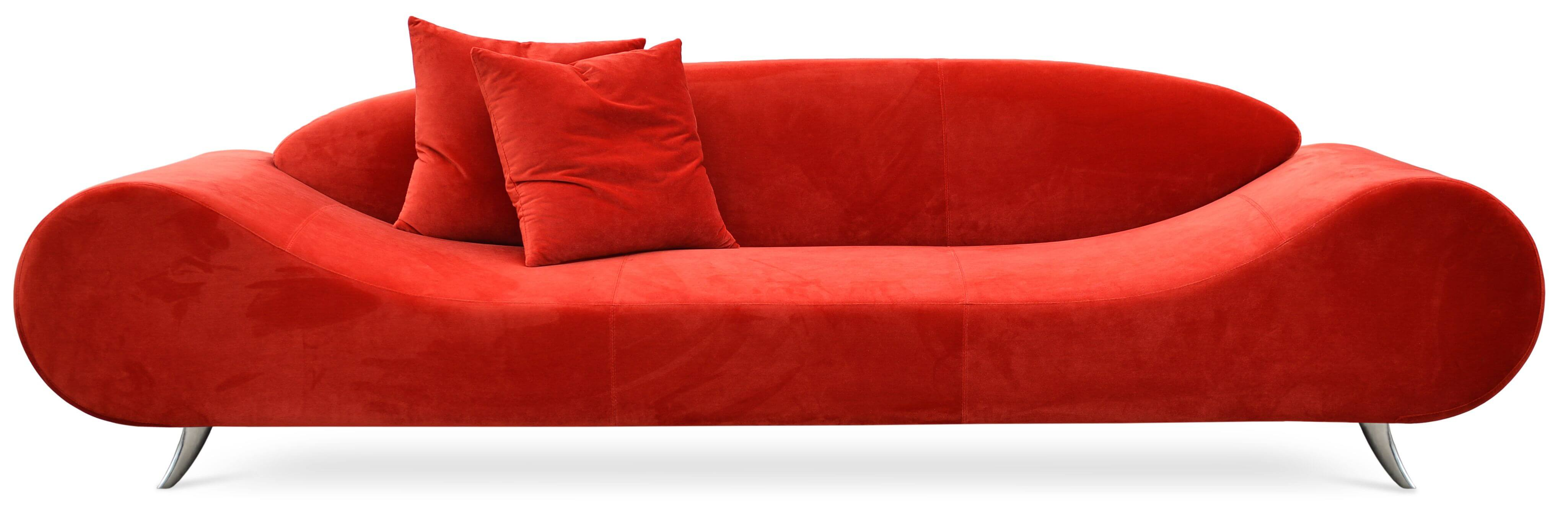 Harmony Sofa Orange Tweed Buy line at Best Price SohoMod