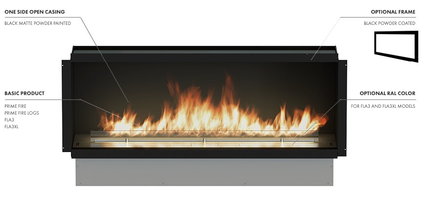 Planika Front Open Fireplaces   Sohomod com