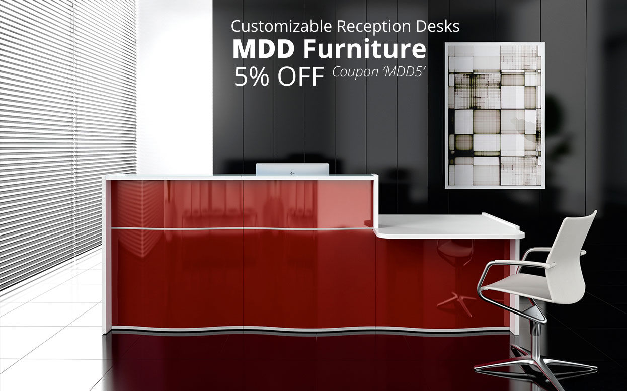 reception desks by mdd furniture 5 off use coupon