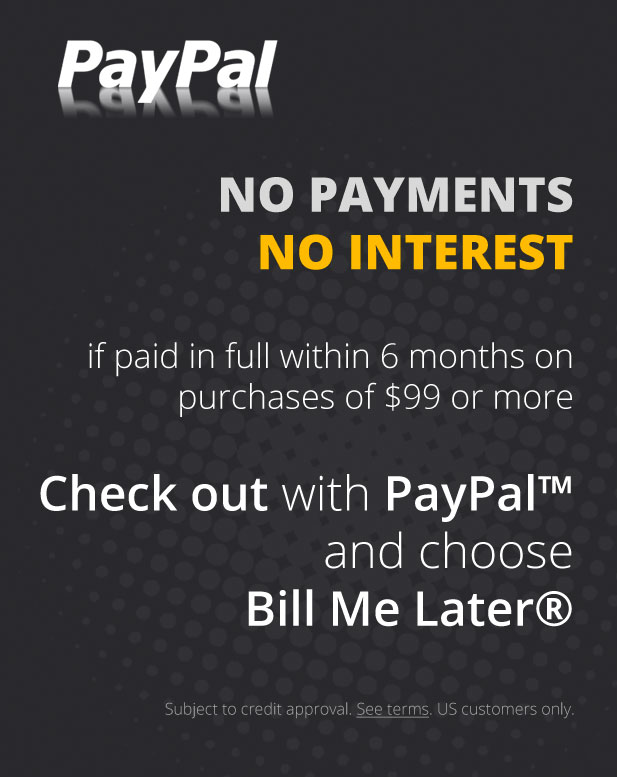 Financing with PayPal